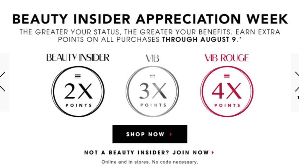 Sephora  Beauty Insider Week