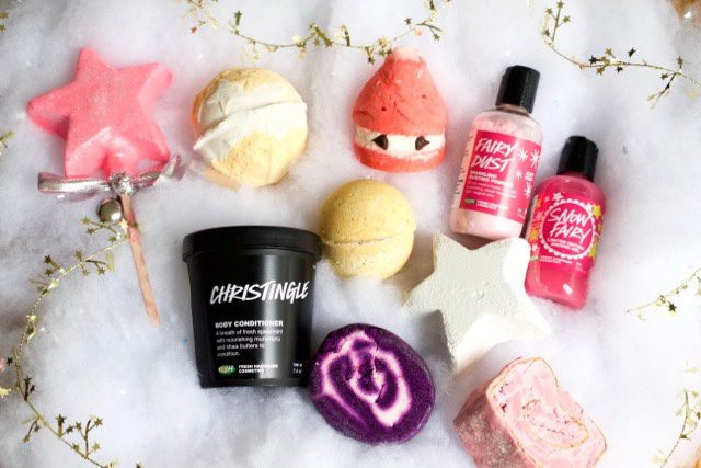 LUSH Holiday 2015 Products