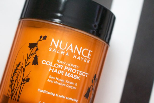 Nuance Raw Honey Color Protect Hair Mask