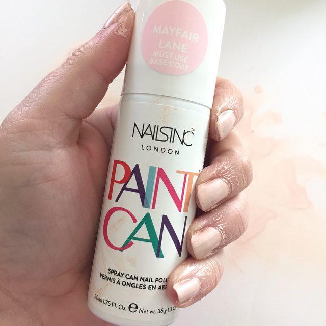 Spray Can Nail Polish?!?