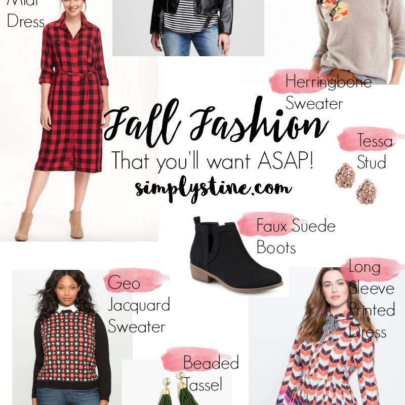 Fall Fashion Finds That You'll Want ASAP!