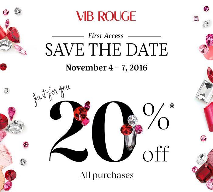 Sephora VIB Rouge Sale