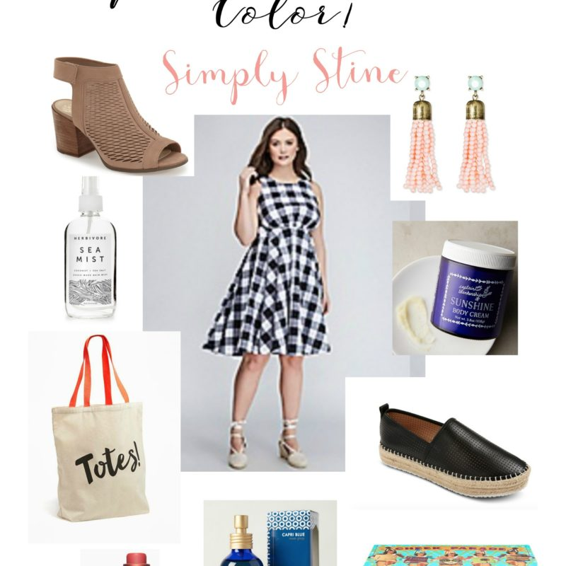 My April Wish List: Peep Toes and Lots of Color!