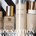 Foundations for all skin types