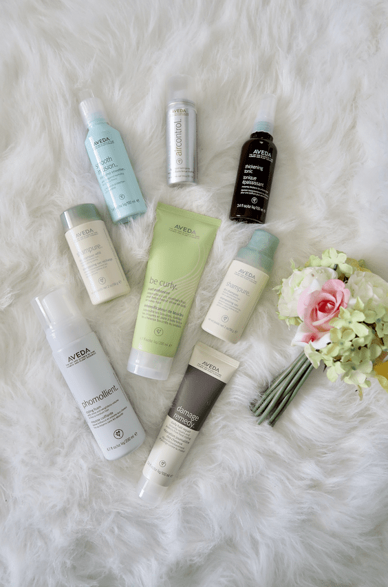 My Favorite Aveda Hair Products To Use For Smooth, Shiny, Healthy Hair