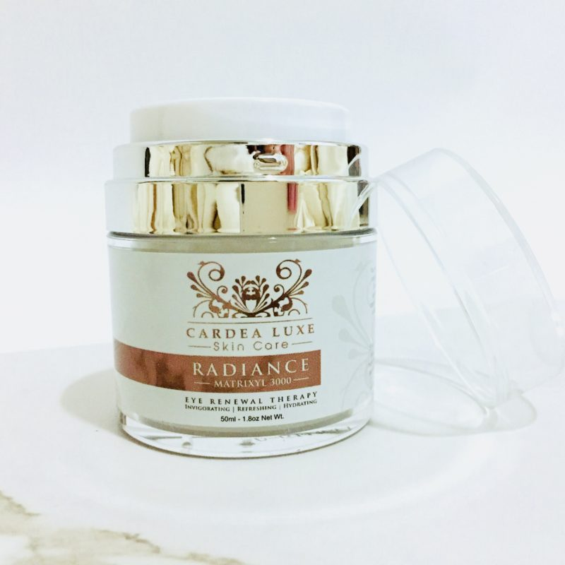 CARDEA LUXE Radiance Eye Cream Review