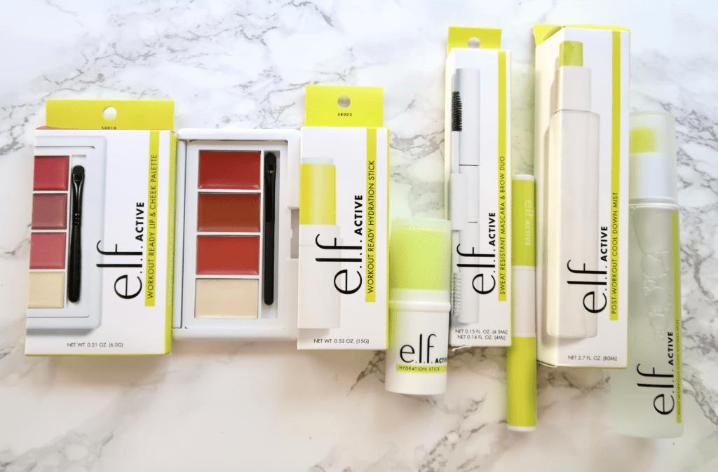 The New e.l.f. Cosmetics Active Product Line