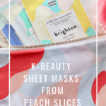 My Favorite K-Beauty Sheet Masks From Peach Slices