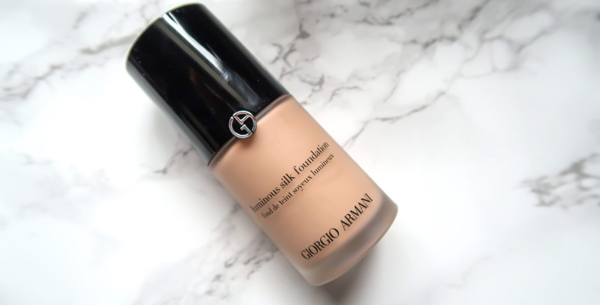 High End Beauty Review: Giorgio Armani Luminous Silk Foundation