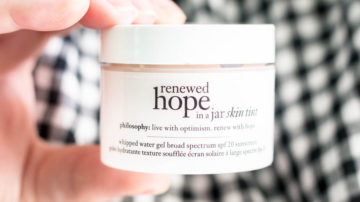 New Philosophy Renewed Hope In A Jar Tinted Moisturizer: Skincare Products That Double As Makeup