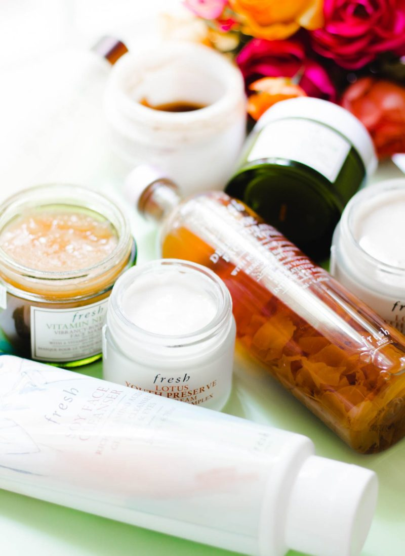 Order To Apply Skincare Products