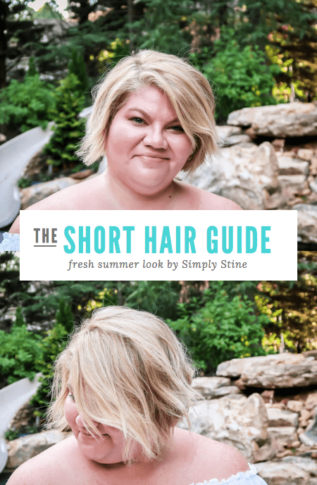 Curious about what it takes to keep a short hairstyle balayage blonde hair style in shape? I'm sharing all of my hair tips on how I keep my locks looking their best! #hair #blonde #Balayage #Bob