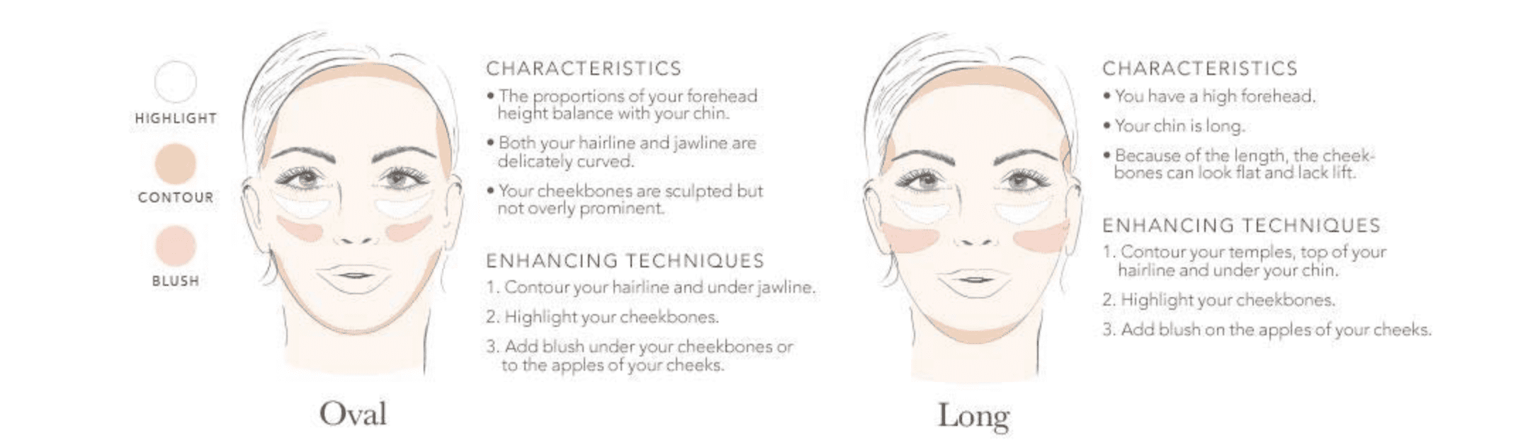 Face Shape: Oval and Long