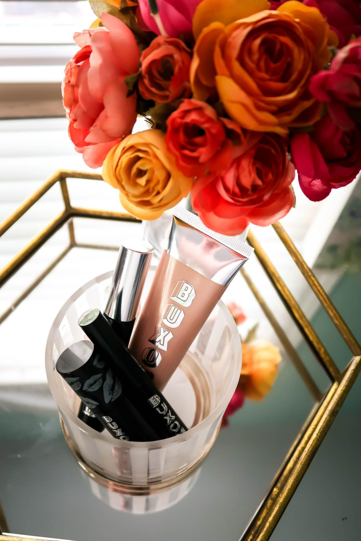 Favorite Makeup Products From Buxom Cosmetics that will help you achieve a gorgeous, but yet natural makeup look in no time! #beauty #makeup #buxomcosmetics #fallmakeup