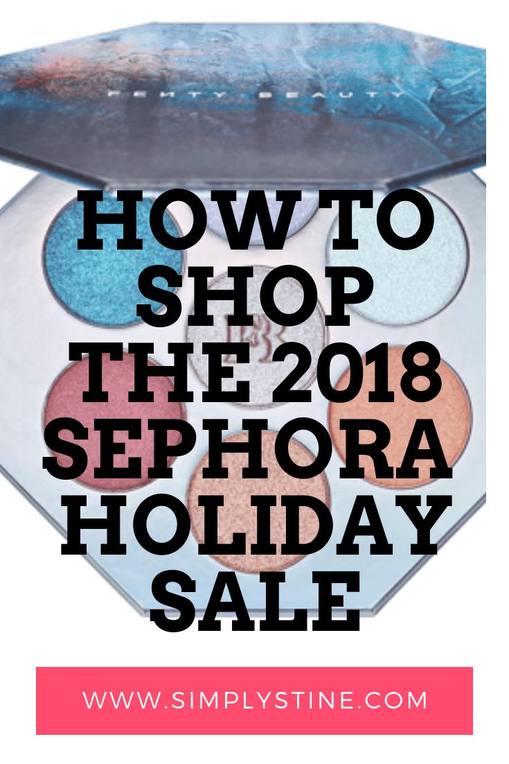Sephora's annual FALL VIB Holiday Sale