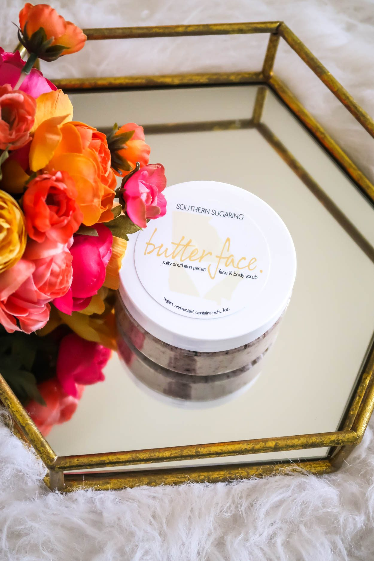 Southern Sugaring Salty Southern Pecan Face and Body Scrub is a new skincare product being released by, Southern Sugaring, a Sugaring Boutique located in Savannah, GA.