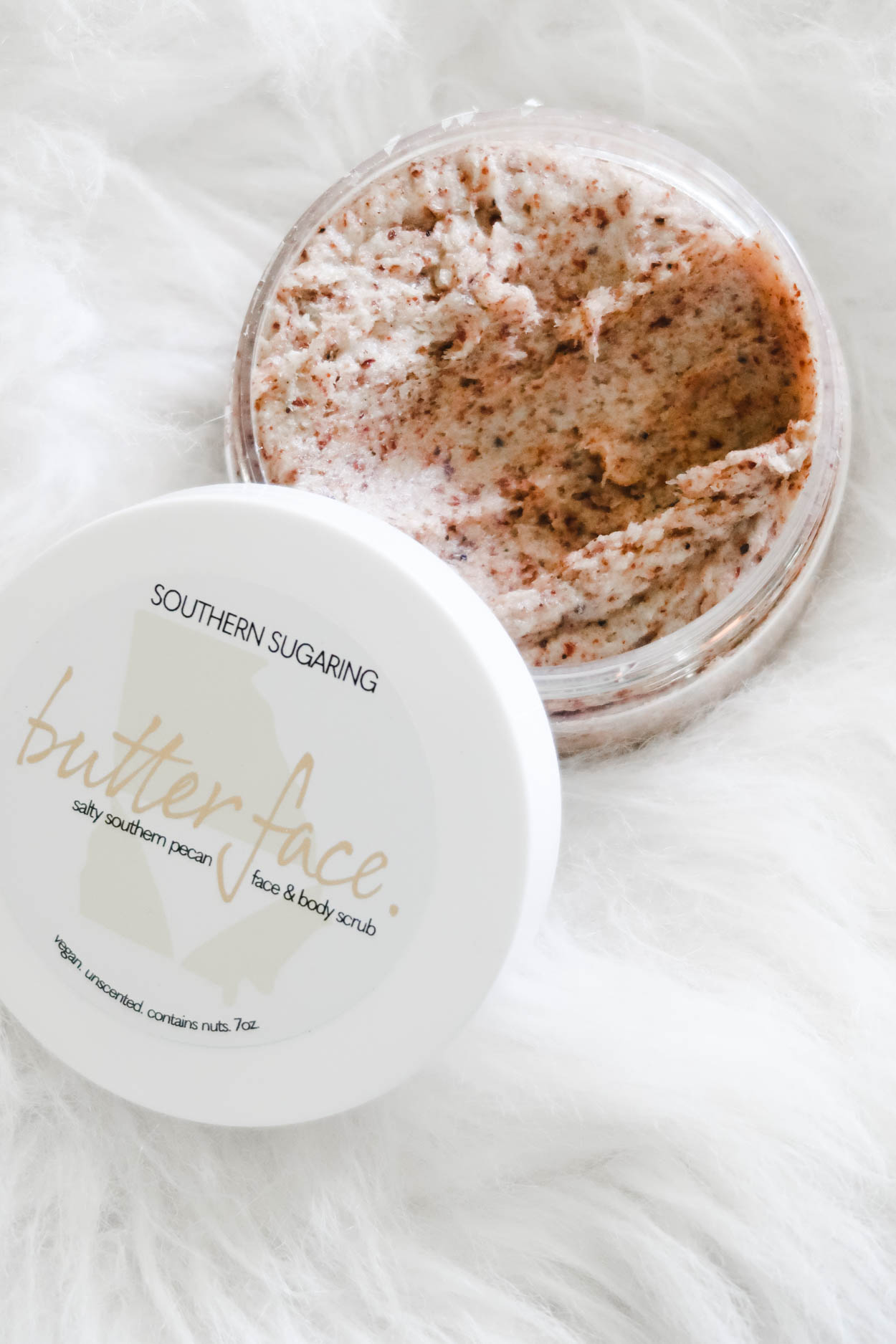 The Southern Sugaring Salty Southern Pecan Face and Body Scrub is a new skincare product being released by, Southern Sugaring, a Sugaring Boutique located in Savannah, GA.