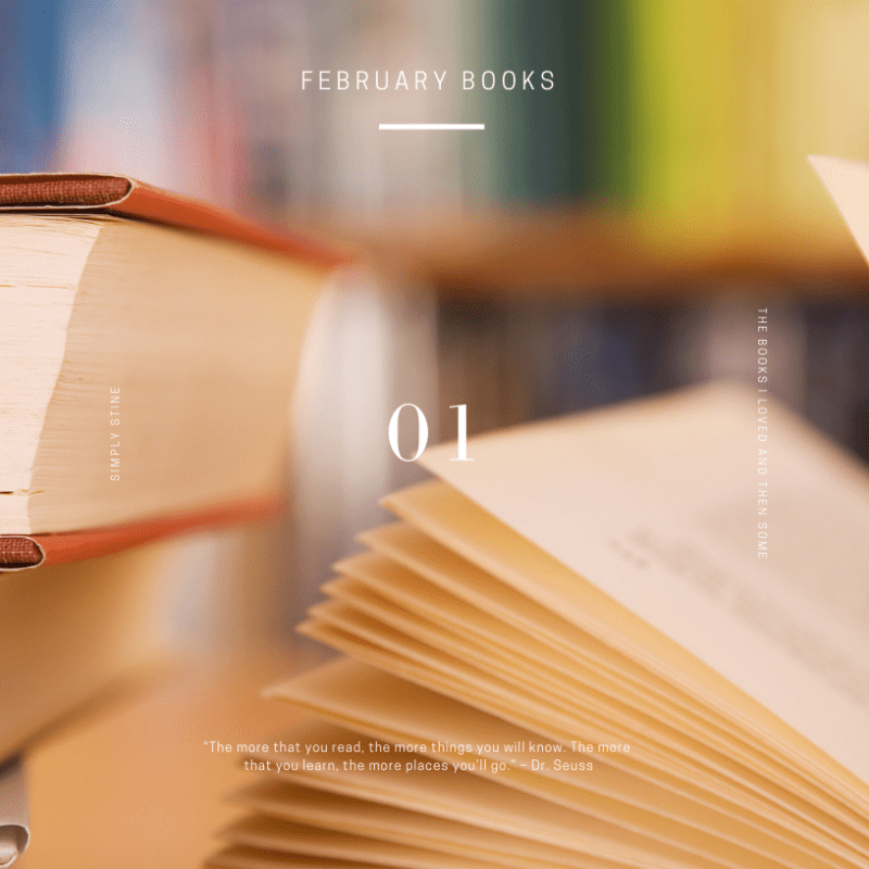 Simply Loved: My February Book Recommendations​​​​​