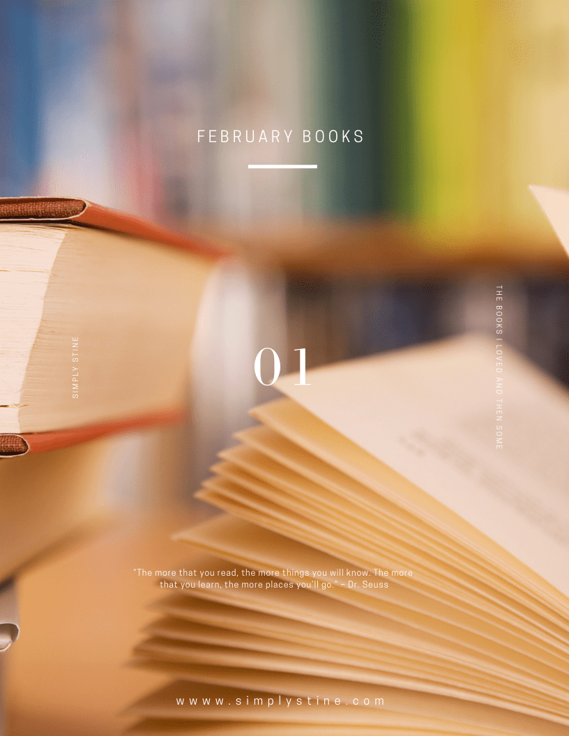 Simply Loved: My February Book Recommendations​​​​