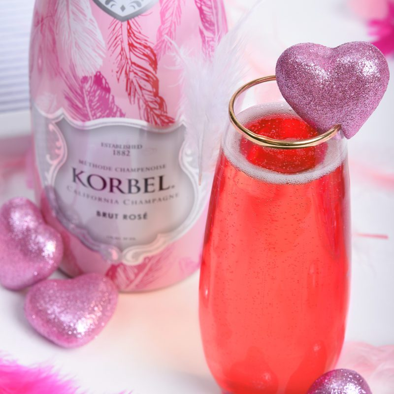A Bubbly Galentine's Day Cocktail Recipe