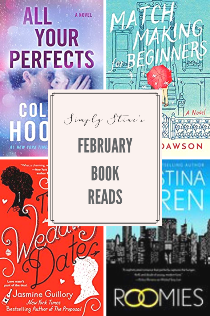 All of the books recommendations for February