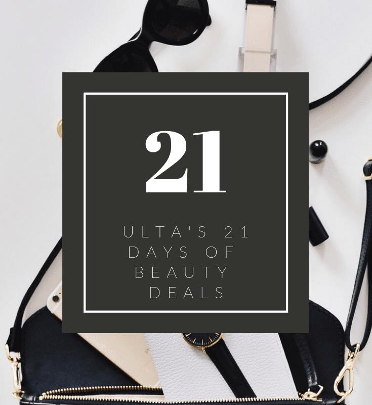 Ulta's 21 Days of Beauty Sale is Happening Again