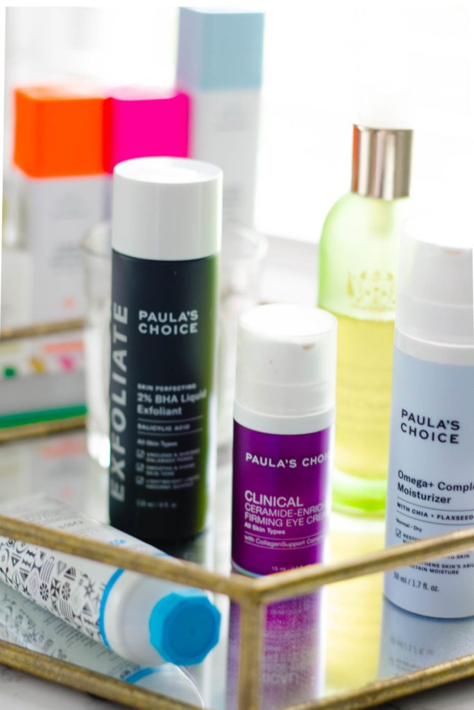 Spring Skincare Routine featuring Drunk Elephant, Paulas Choice and more brands