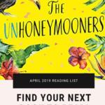 APRIL 2019 Reading List The Unhoneymooners