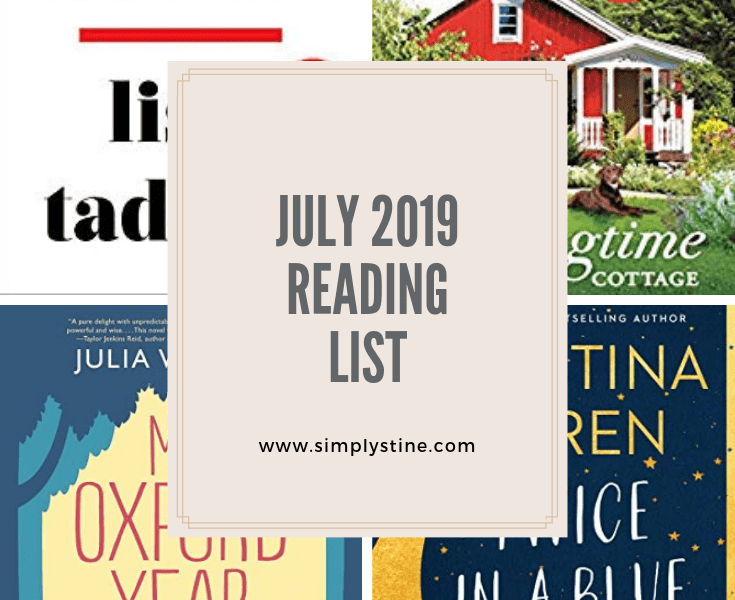 Simply Loved: July 2019 Reading List