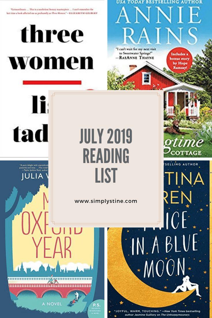 July 2019 Reading List