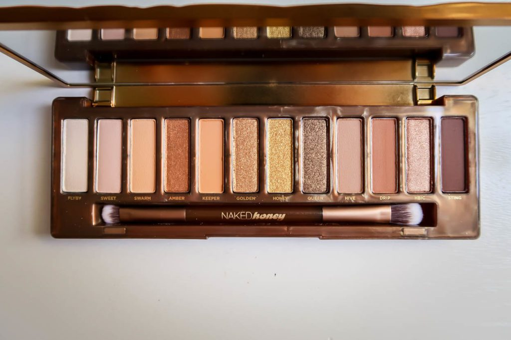 Urban Decay Naked Honey Palette Review - Wake Up For Makeup