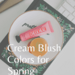 Cream Blush Colors for Spring