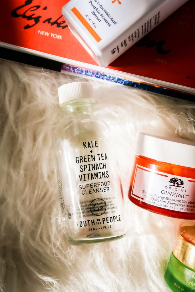 February Beauty Empties Youth To The People Cleanser and Origins Moisturizer