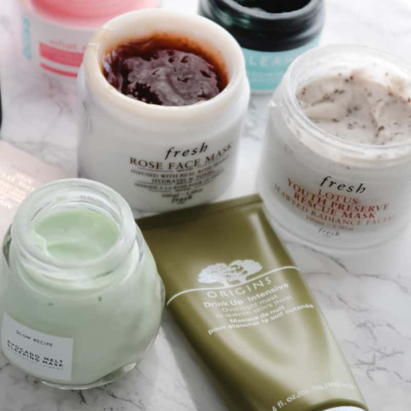 The Face Masks I'm Currently Using