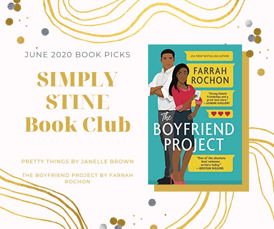 Simply Stine Book Club Picks for June 2020