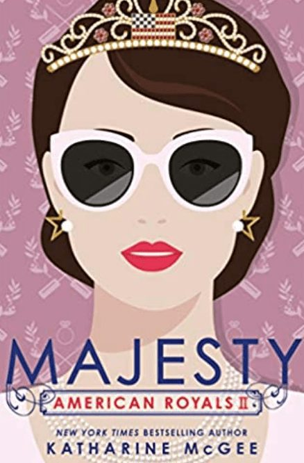 Majesty by Katharine McGee Book Cover