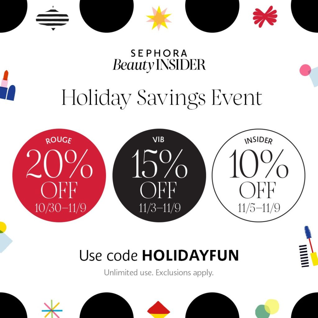 Sephora Holiday Event | Sehora VIB Shopping Sale. Sharing what holiday kits and holiday sets that I think are worth gifting this year!  #Sephora #SephoraVIB #HolidaysGifts