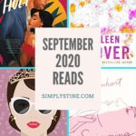 Image featuring my September 2020 Reading List