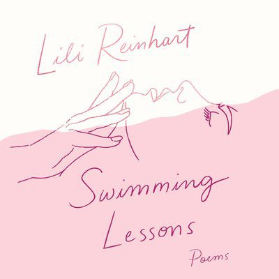 An Audiobook Cover of Swimming Lessons by Lili Reinhart
