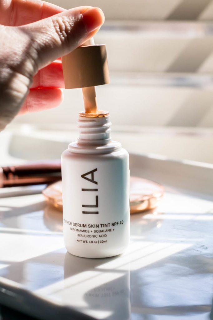 Ilia Super Serum Skin Tint Foundation Dropper