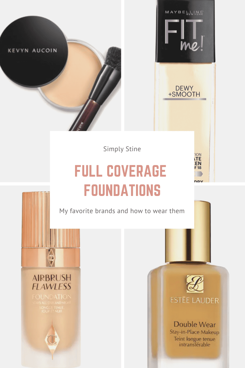 The Best Full Coverage Foundations