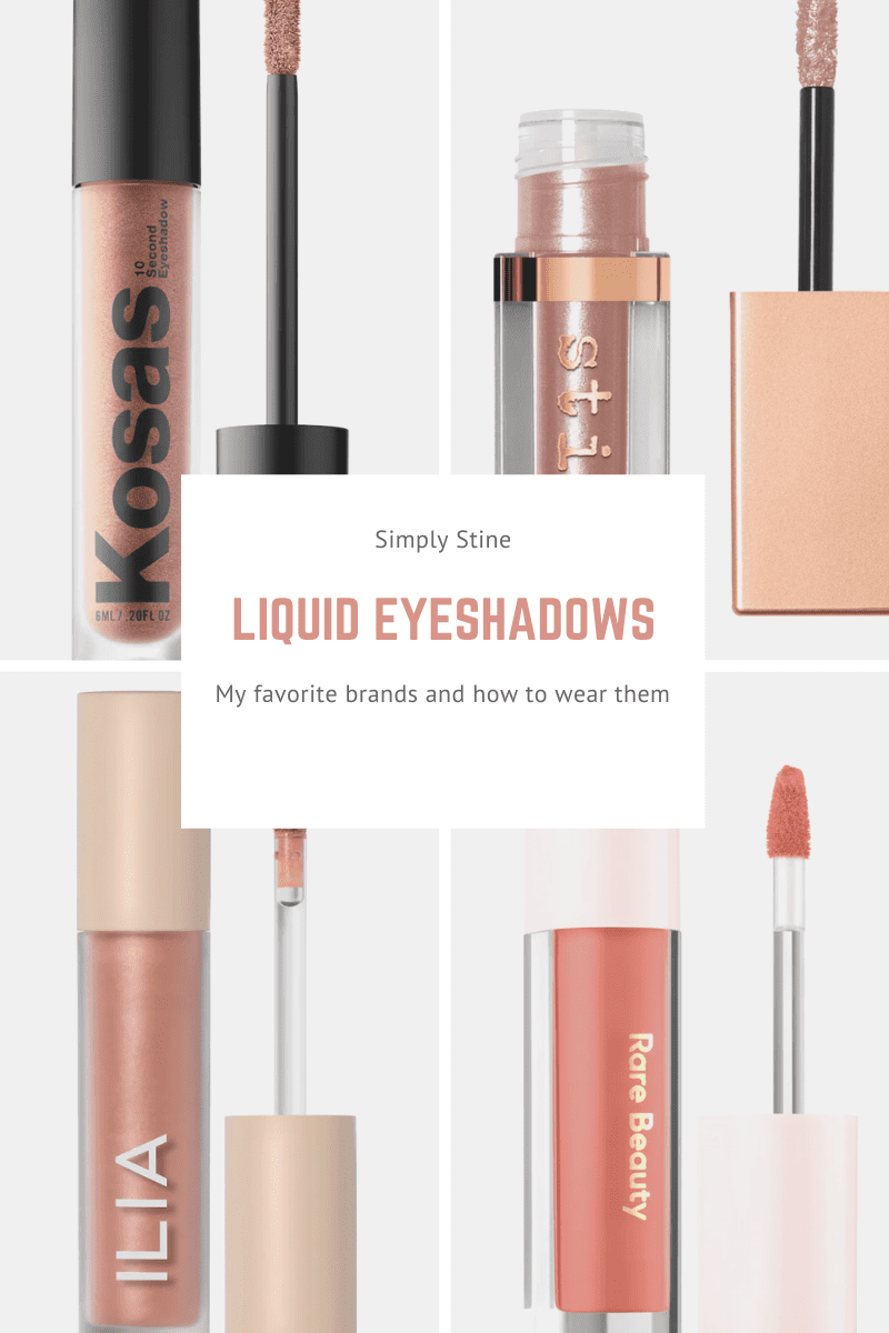 My Favorite Liquid Eyeshadows